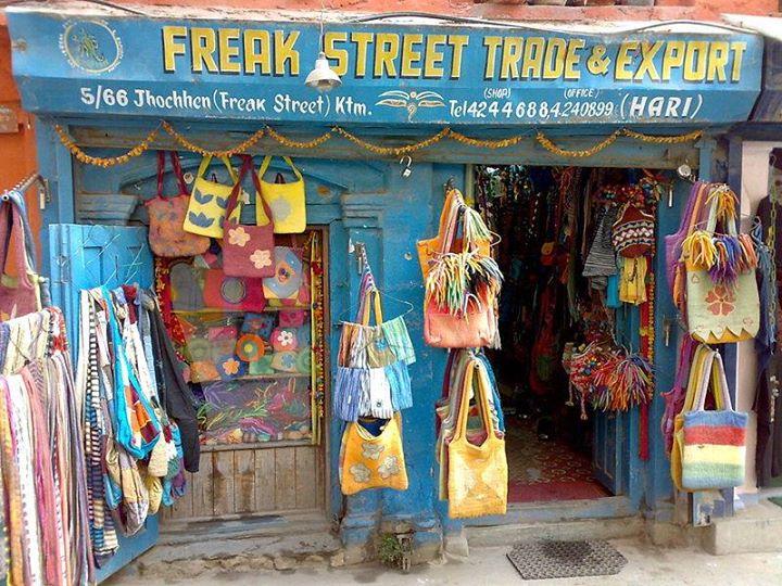 Freak Street, Katmandu